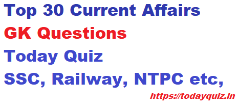 Current Affairs Quiz March 2021